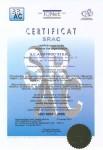 CERTIFICATE-SRAC-A