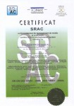 CERTIFICATE-SRAC-C